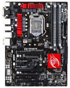 Gigabyte GA-Z97X-GAMING 3 LGA 1150 Z97 Gaming Audio and Networking ATX Motherboard